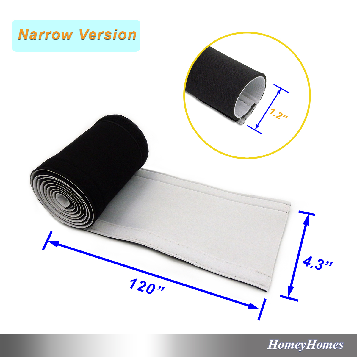 Cable Sleeves Black White